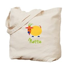 Nettie The Capricorn Goat Tote Bag