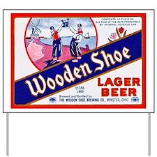 Ohio Beer Label 11 Yard Sign