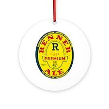 Ohio Beer Label 8 Ornament (Round)