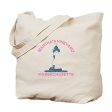 Martha's Vineyard MA - Lighthouse Design. Tote Bag