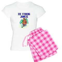 Ice Fishing Junkie Pajamas