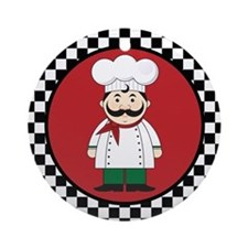Italian Chef Cooking Gift Ornament