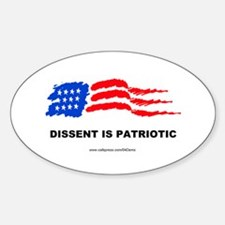 """Patriot"" Oval Decal"