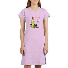 Vive le Vin Women's Nightshirt