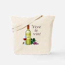 Vive le Vin Tote Bag