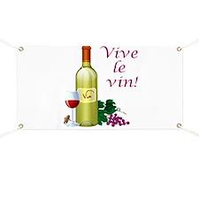 Vive le Vin Banner