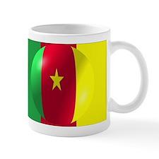 Cameroon Flag With Bubble Small Mug
