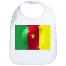 Cameroon Flag With Bubble Bib