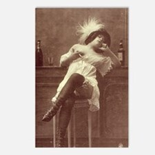 Belle Epoque Bar Girl Postcards (Package of 8)