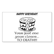 Birthday T Stickers