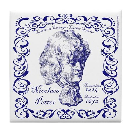 Nicolaes Petter Tile Coaster