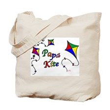Papa Kite Tote Bag