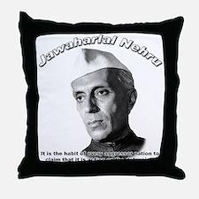 Javaharlal Nehru 01 Throw Pillow