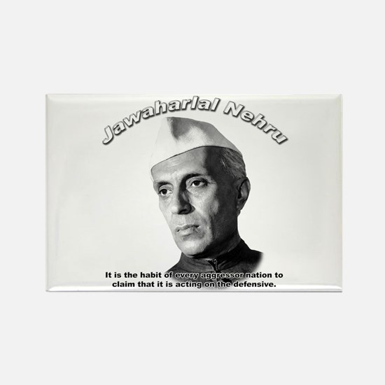 Javaharlal Nehru 01 Rectangle Magnet