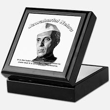 Javaharlal Nehru 01 Keepsake Box