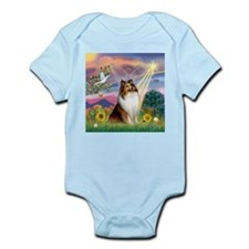Cloud Angel Sheltie Infant Bodysuit