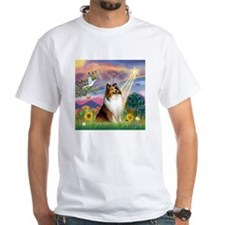 Cloud Angel Sheltie Shirt