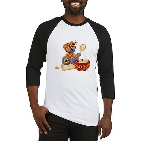 TeddyBear Chef Baseball Jersey