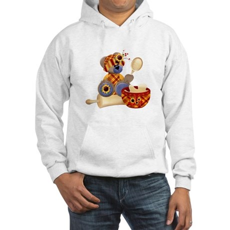 TeddyBear Chef Hooded Sweatshirt
