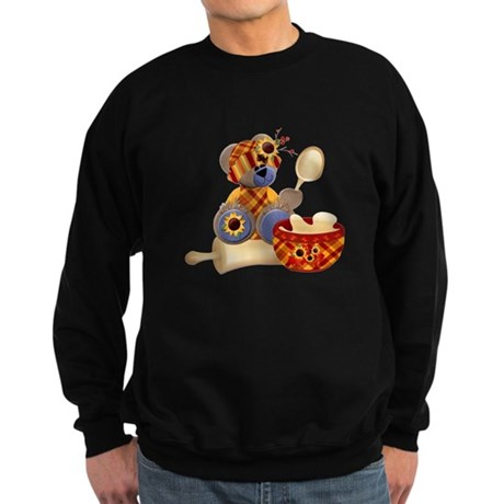 TeddyBear Chef Sweatshirt (dark)