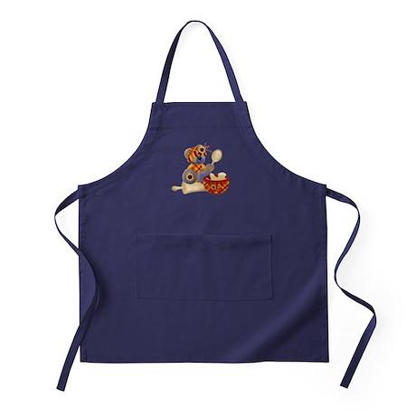 TeddyBear Chef Apron (dark)