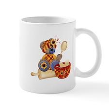 TeddyBear Chef Small Mugs