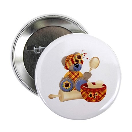 "TeddyBear Chef 2.25"" Button"