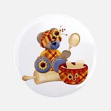 "TeddyBear Chef 3.5"" Button"