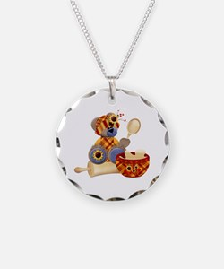 TeddyBear Chef Necklace