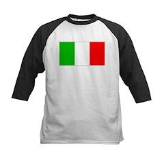 Italy Italian Blank Flag Tee