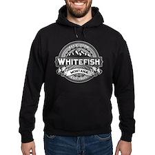 Whitefish Logo Grey Hoodie