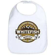 Whitefish Logo Tan Bib