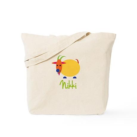 Nikki The Capricorn Goat Tote Bag