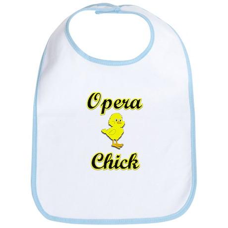 Opera Chick Bib