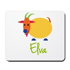 Elva The Capricorn Goat Mousepad