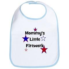 Mommy's Little Firework Bib