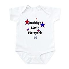 Daddy's Little Firework Infant Creeper