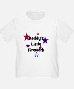 Daddy's Little Firework T