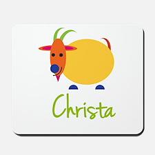 Christa The Capricorn Goat Mousepad