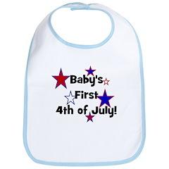 Baby's First 4th of July! Bib