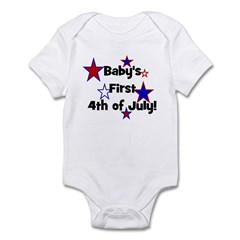 Baby's First 4th of July! Infant Creeper