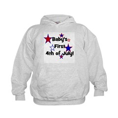 Baby's First 4th of July! Hoodie