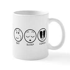 Eat Sleep Conga Mug