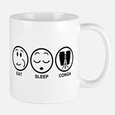 Eat Sleep Conga Mug