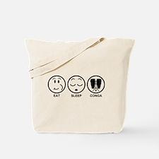 Eat Sleep Conga Tote Bag