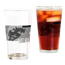 white noise Drinking Glass
