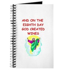 god created wine Journal