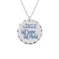 Bloggers are Temperamental Necklace