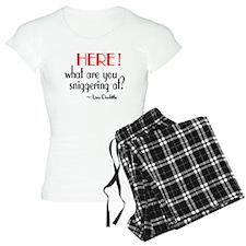 Liza Doolittle Quote Pajamas