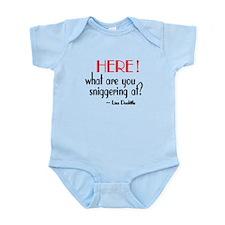 Liza Doolittle Quote Infant Bodysuit
